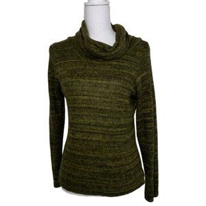 ACW Cowl Neck Green Size L Sweater - A1809
